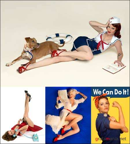 Pin-up Style Creative Photoworks