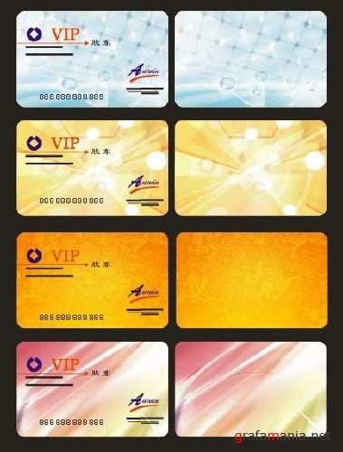 VIP Card Vector Design