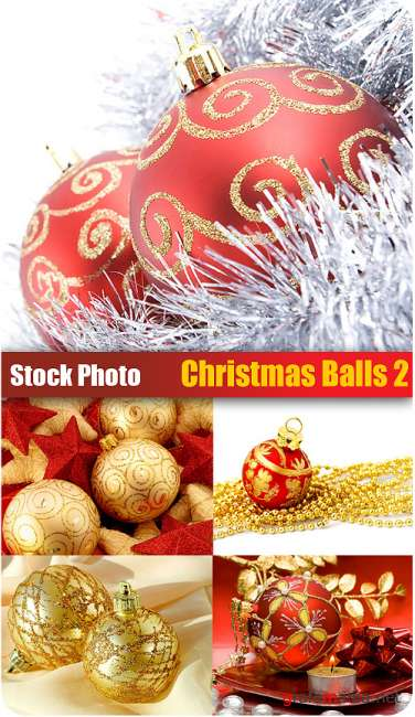 Stock Photo - Christmas Balls 2