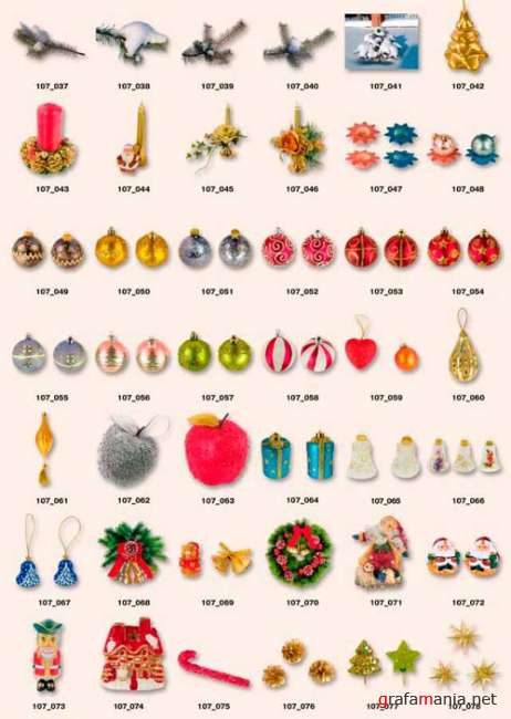 New Year objects | ���������� �������