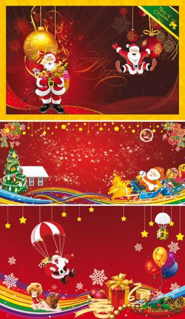 PSD templates - New Year & Merry Christmas 5