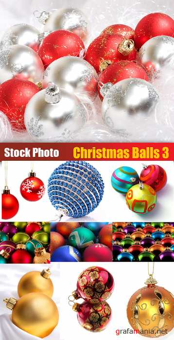 Stock Photo - Christmas Ball 3