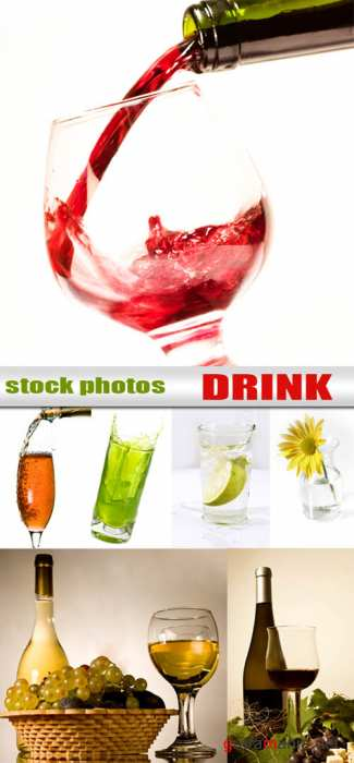 Drinks - stock photos | Напитки