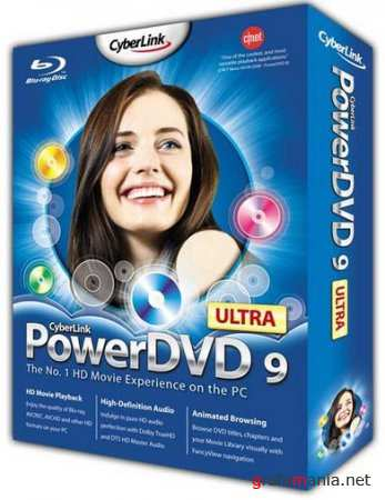 Cyberlink PowerDVD Ultra 9.0.2320а Rus RePack by Lisabon