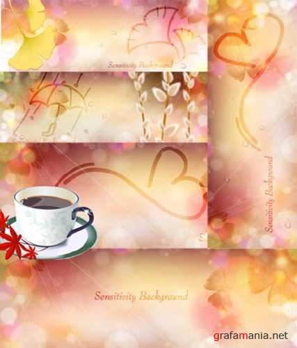 Romantic Vector Banners