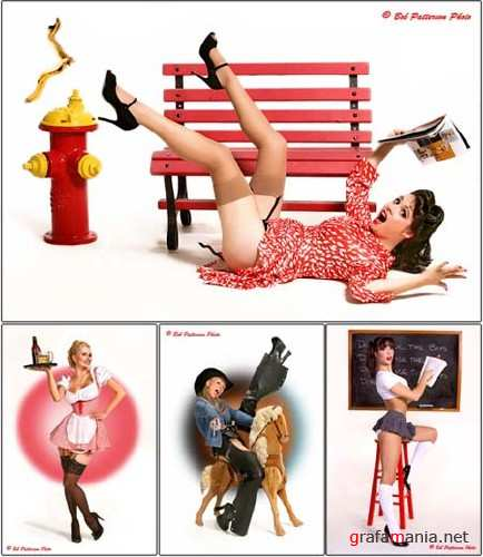 Pin-up Style Photoworks by Bob Patterson