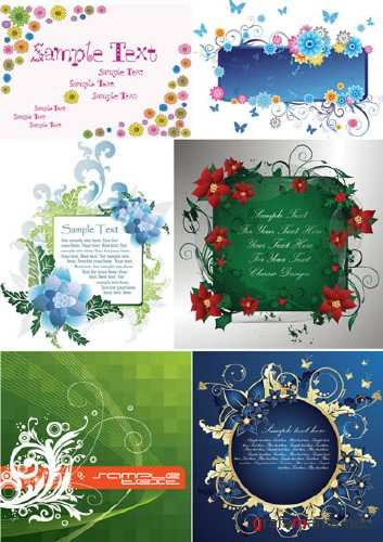 Vector Beautiful Decoration 2