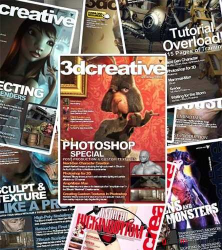 3dcreative Magazine 2009 Collection (All Issues)