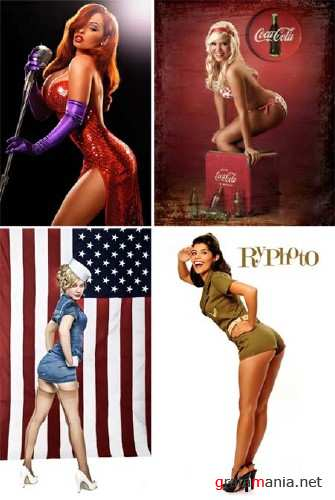 Pin-up Style Photoworks Mix