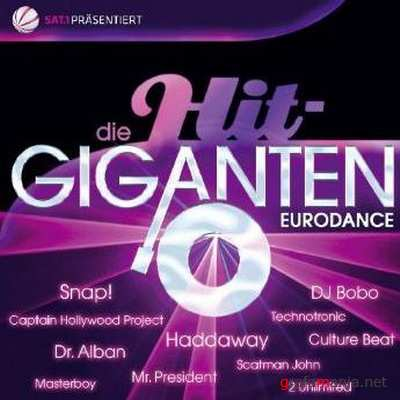 Die Hit Giganten Eurodance 2CD (2010)