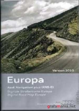 Audi Navigation plus RNS-E 2010 East-Central Europe