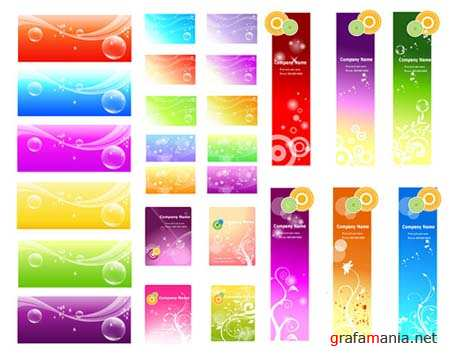 Fantasy-style Vector Backgrounds