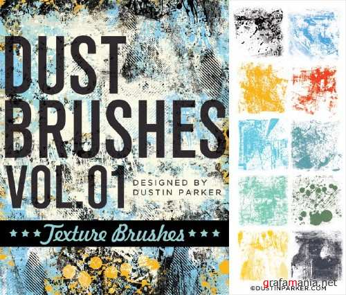 Dust Brushes Vol 1. Texture