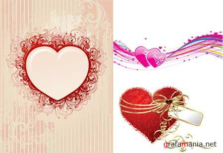 Hearts Vector Material