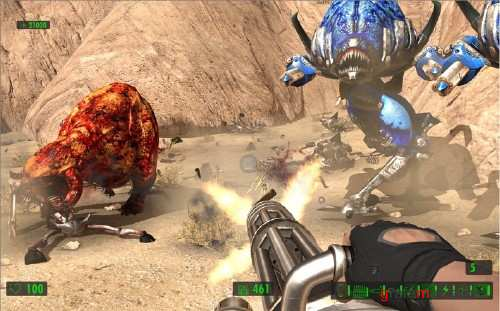 Serious Sam HD: The First Encounter (2010/ENG/XBOX360)