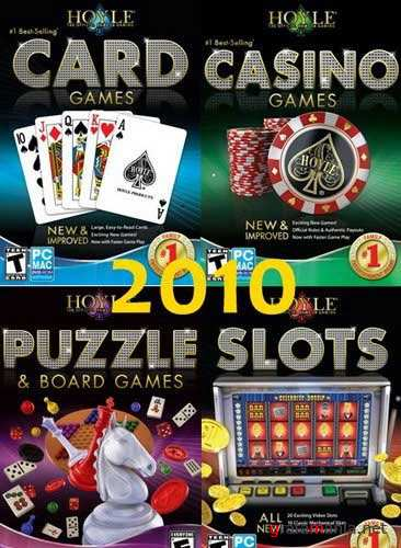 Hoyle Games 2010. 4in1 (2009/ENG/RePack)