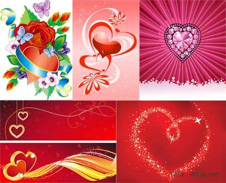 Hearts Vector Material 2