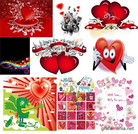 Hearts Vector Material 3