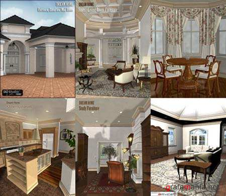 Dream Home by DAZ Studio for Poser