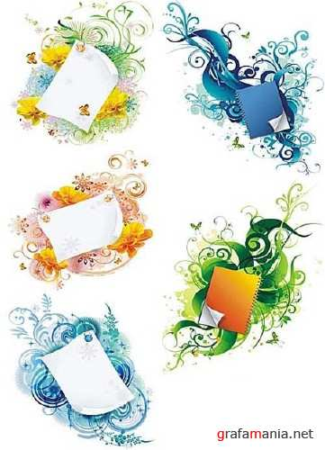 Asadal Vector Design - Stickers and Papers 2