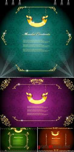 Asadal design vector Backgrounds 46