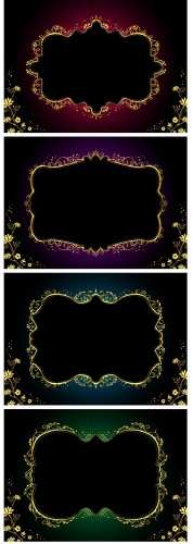 Asadal design Gold frames 2