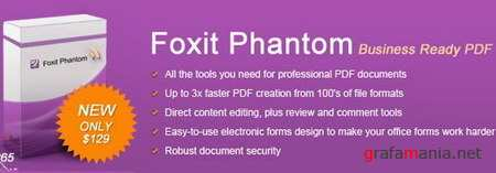 Foxit Phantom 1.0.3 build 0109 RUS