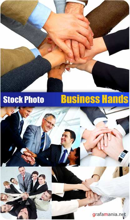 Stock Photo - Business Hands