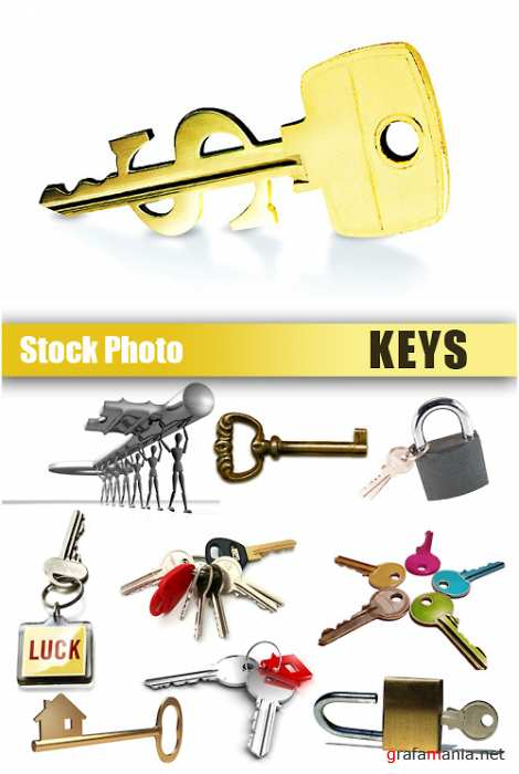 Stock Photo - Keys