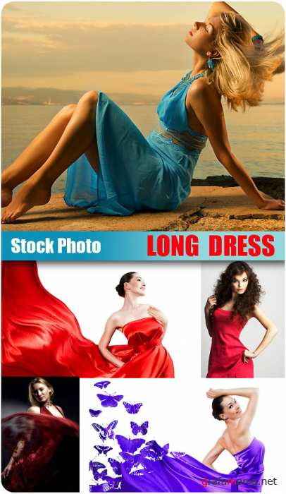Stock Photo - Long Dress