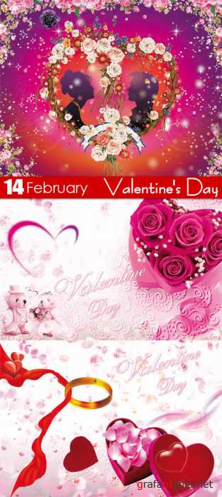 PSD templates - Valentine's Day 3