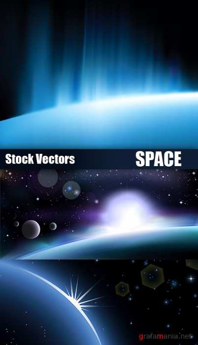 Stock Vectors - Space