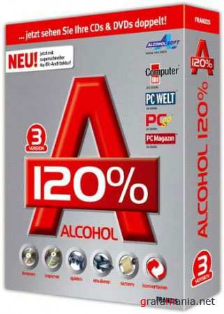 Alcohol 120% 2.0.0.1331 Retail Incl. LoadeR by RmK-FreE