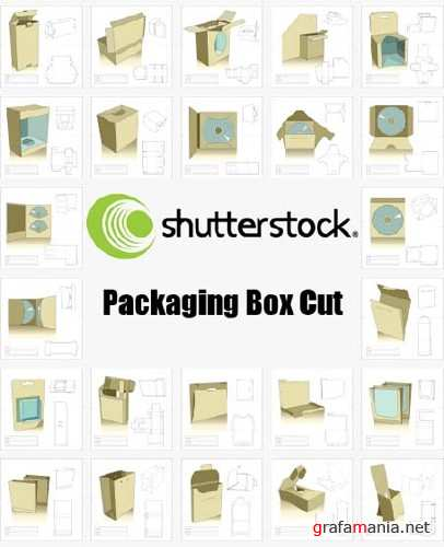 ShutterStock - Packaging Box Cut