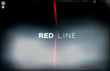 Activeden Red Line Template