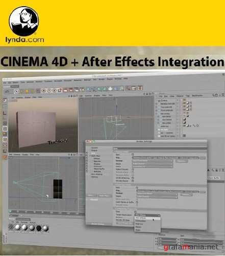 Lynda.com - Cinema 4D and After Effects Integration