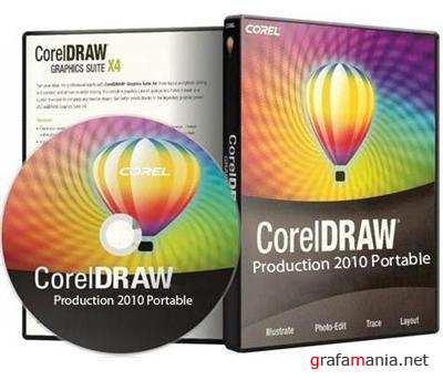 CorelDraw Production 2010 Portable