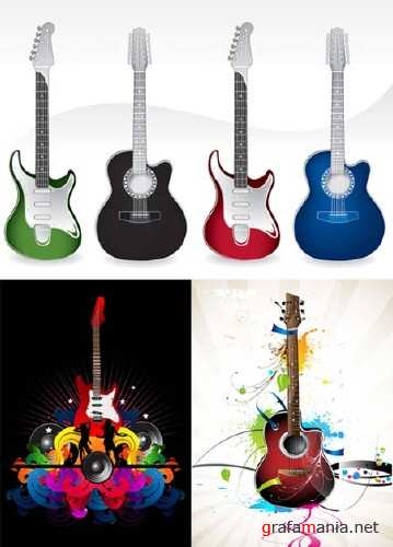 Guitars Vector Collection 2