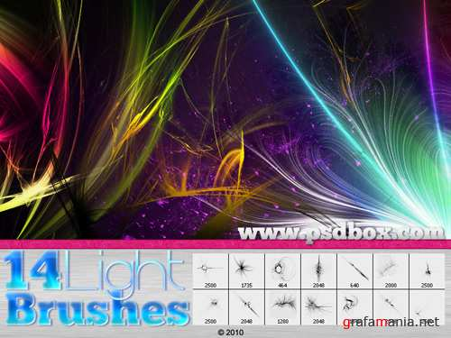 Light Streak Brushes
