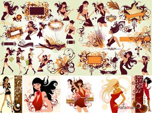 Fashion Vector Girls 6