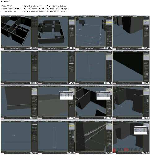 3D-Palace - Architecture in 3DS Max Visualisation Set 1 DVD1