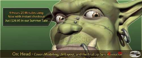 Simply Maya - Orc Head Modelling and Texturing