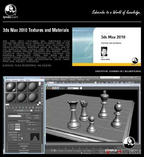 Lynda.com - 3DS Max 2010 Textures And Materials