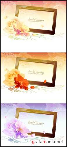 Vector Romantic Flower 1