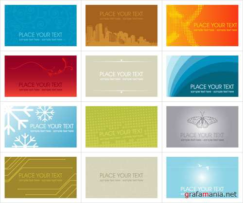 SS Business cards vectors