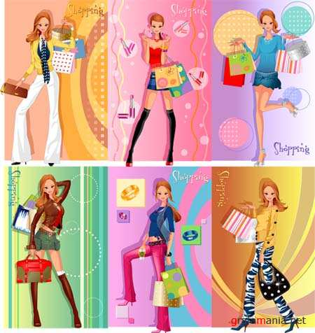 Fashion Vector Girls 7