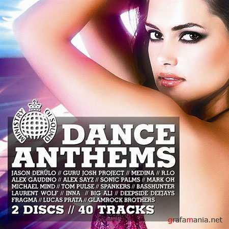 Ministry Of Sound Dance Anthems 2CD (2010)