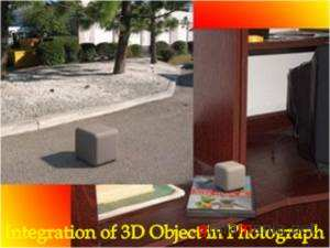 Integration of 3D Object in Photograph