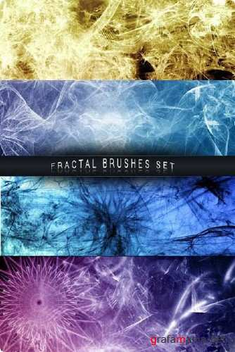 Fractal Photoshop Brushes Set