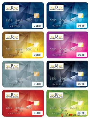 Bank Cards Vector Design